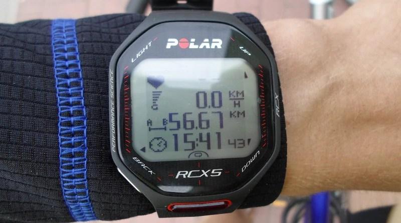 Polar RCX5 - ekran
