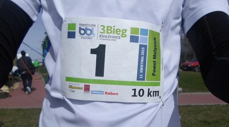 Bieg w Książenicach - numer jeden