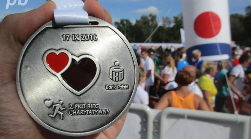 Bieg Charytatywny - medal