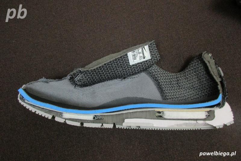 Nike Zoom Odyssey - przekrój