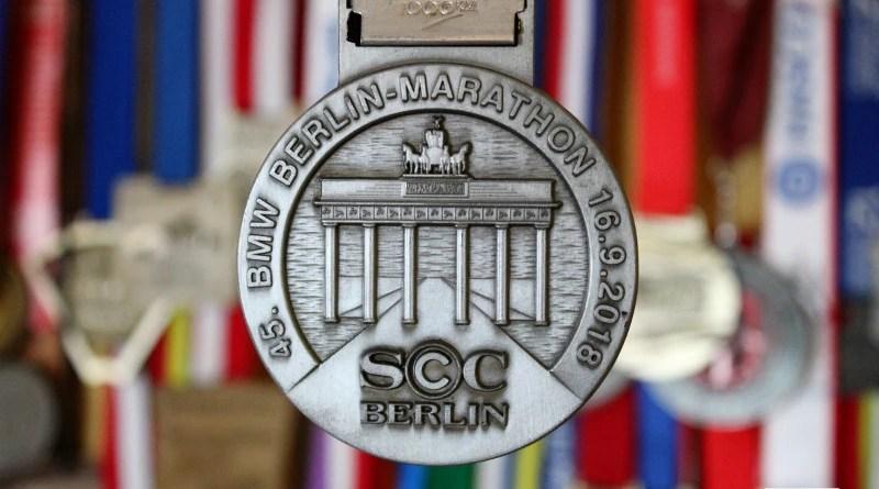 BMW Berlin Marathon - medal