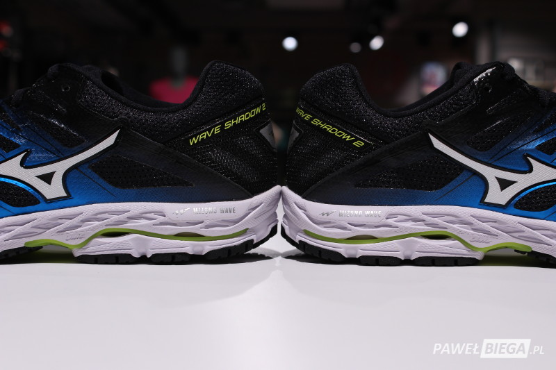 Mizuno Wave Shadow 2 - zapiętek
