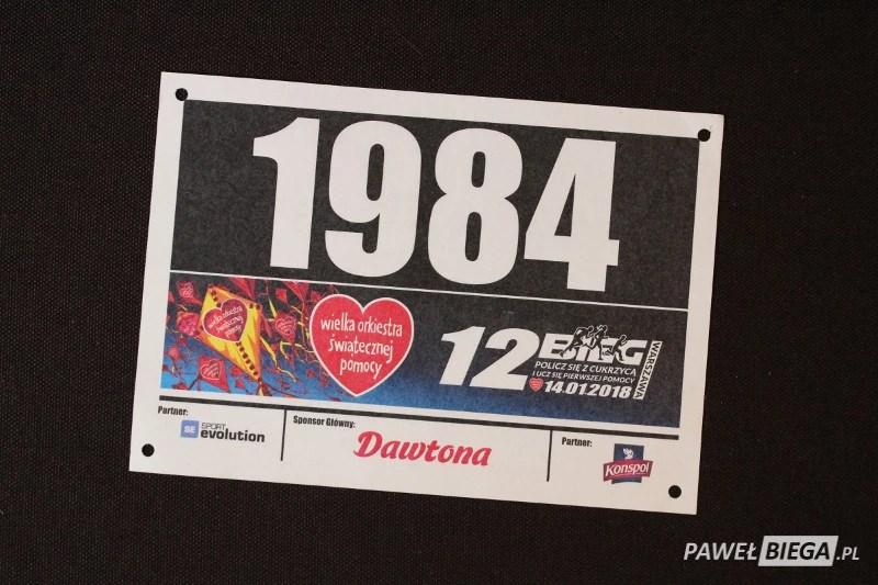 Numer startowy 1984
