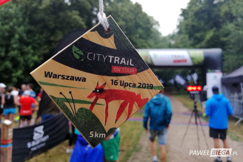 City Trail on Tour - medal