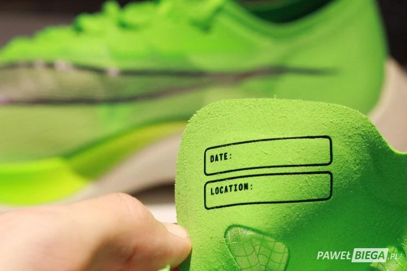 Nike Vaporfly Next - record
