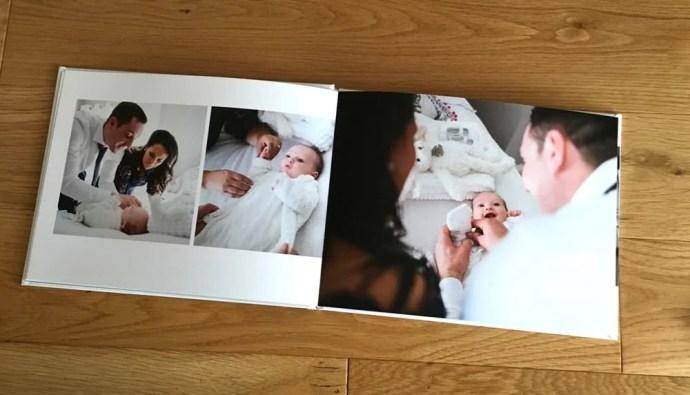 christening baptism photobook album