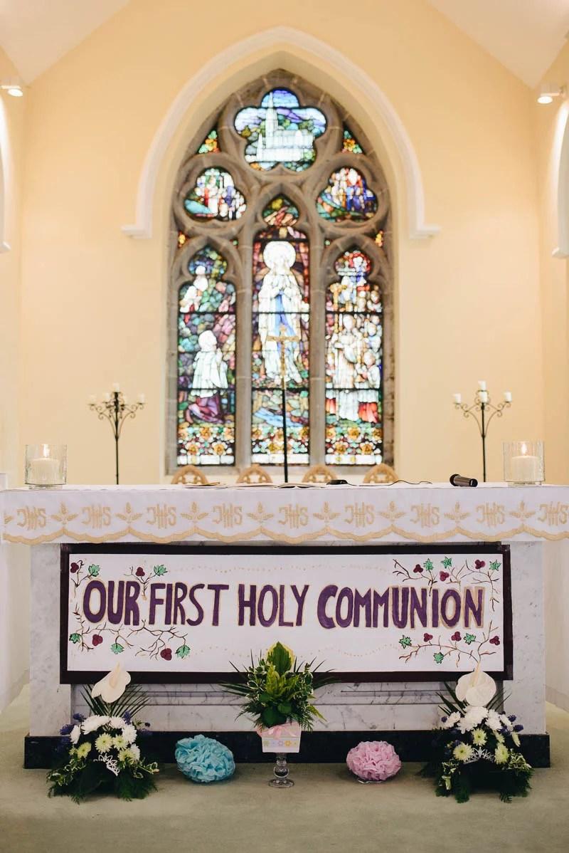 First Communion Saint Bridget's Church.-20