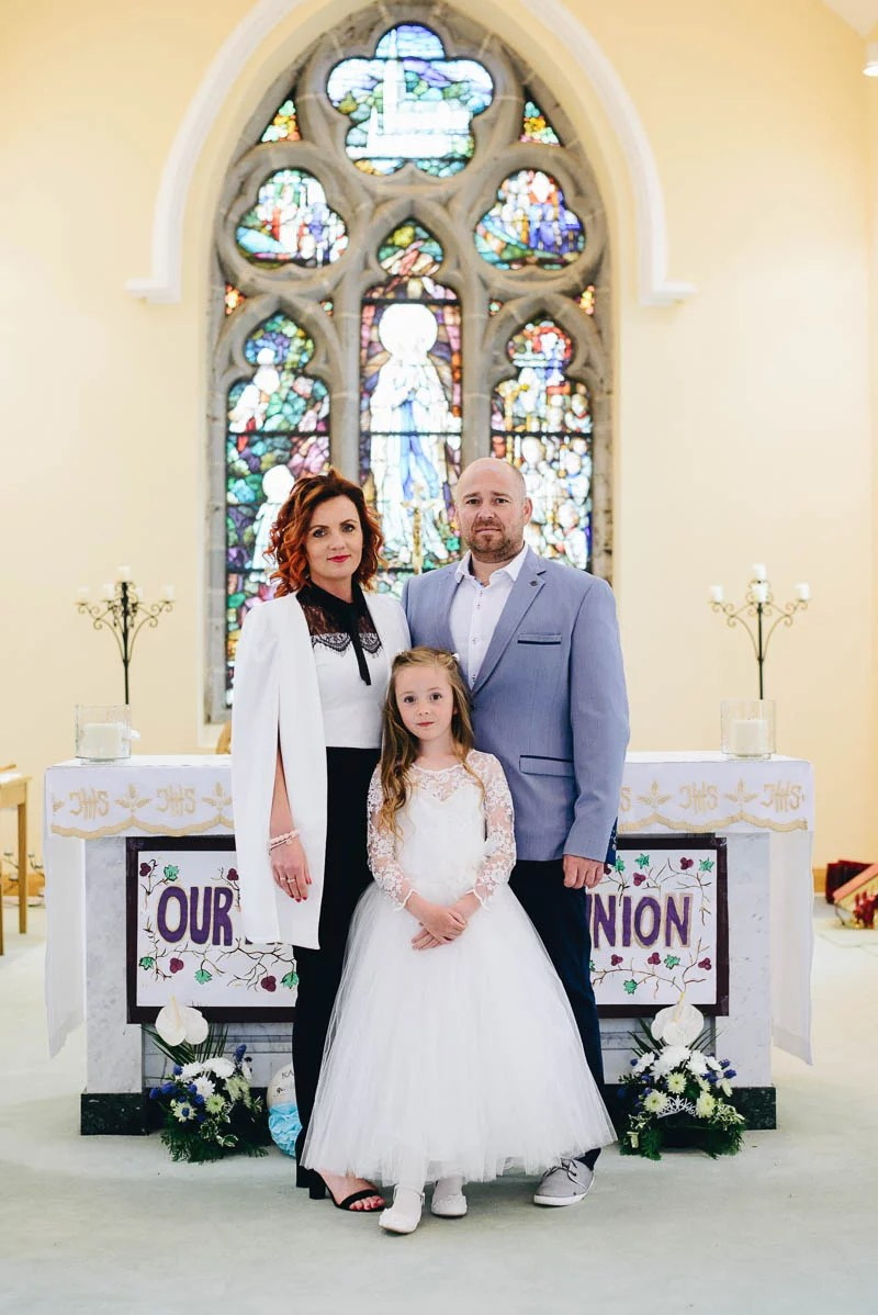 First Communion Saint Bridget's Church.-35
