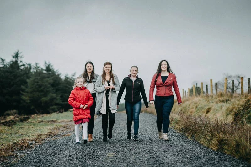 family photography benbulben forest walk sligo-9