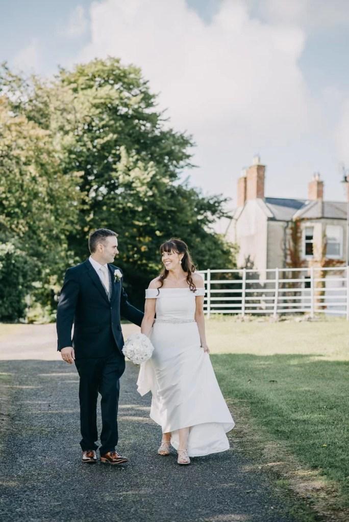 wedding photo in castle dargan venue