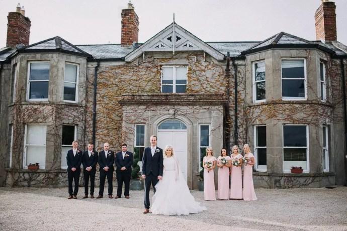 Castle Dargan Wedding portrait