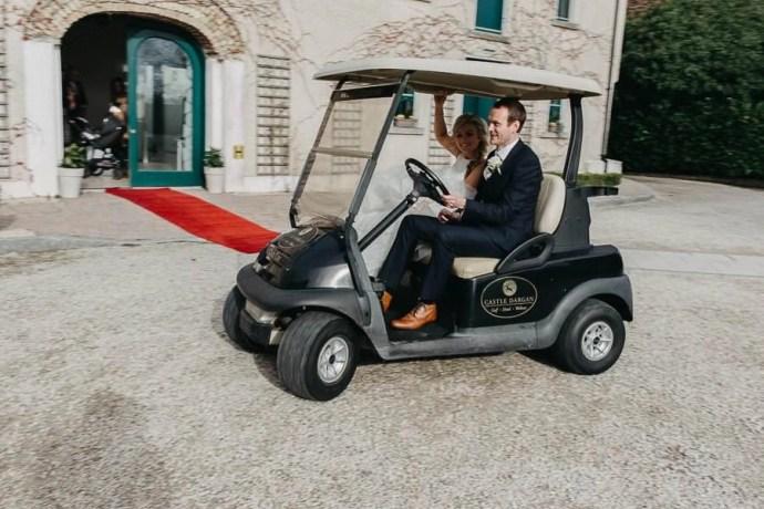 buggy in castle dargan