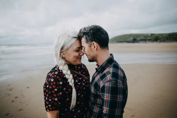 engagement session in bundoran beach ireland