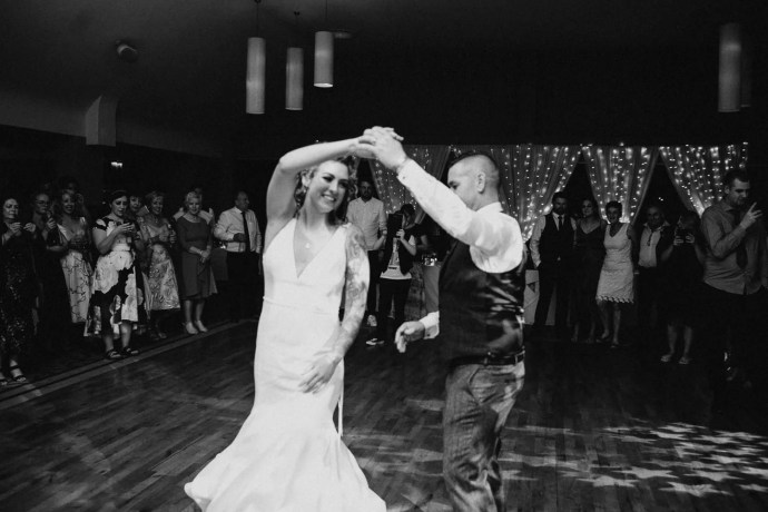 first dance at castle dargan wedding venue
