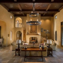 Living Room In Spanish Antique Design Ideas Pawling Interior Two