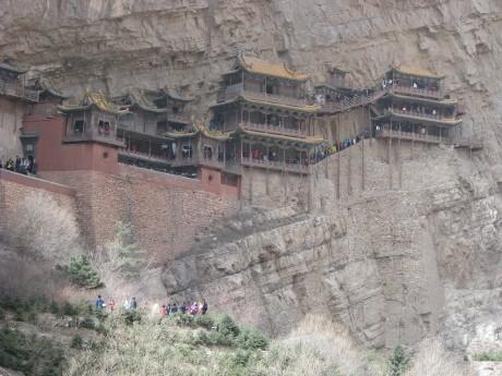 Datong - wiszące klasztory igroty Yungang 2