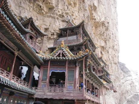 Datong - wiszące klasztory igroty Yungang 4