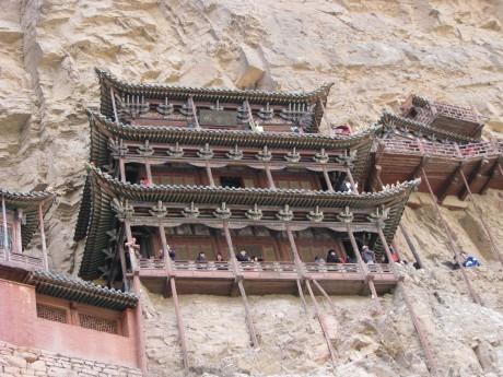 Datong - wiszące klasztory igroty Yungang 8