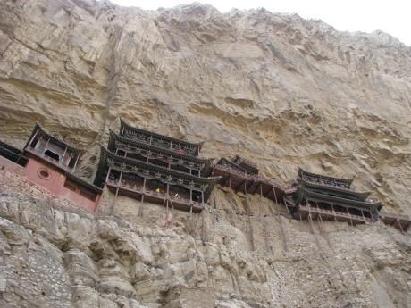 Datong - wiszące klasztory igroty Yungang 9