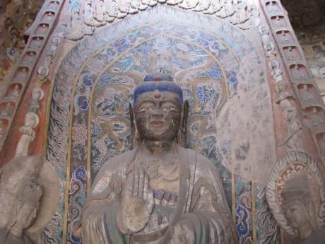 Datong - wiszące klasztory igroty Yungang 15