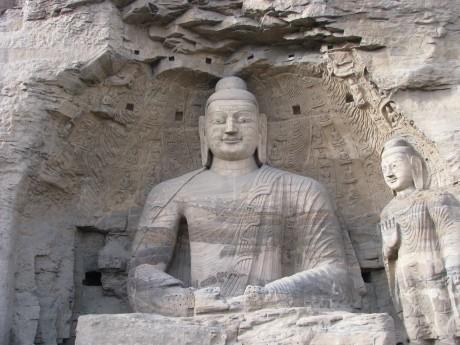 Datong - wiszące klasztory igroty Yungang 18