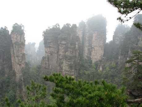 Zhangjiajie - totu kręcono Avatara 10