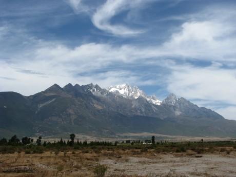 Lijiang - Baisha - rower - góry 2
