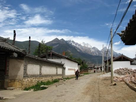 Lijiang - Baisha - rower - góry 26