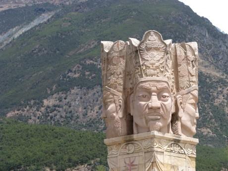 Lijiang - Baisha - rower - góry 9