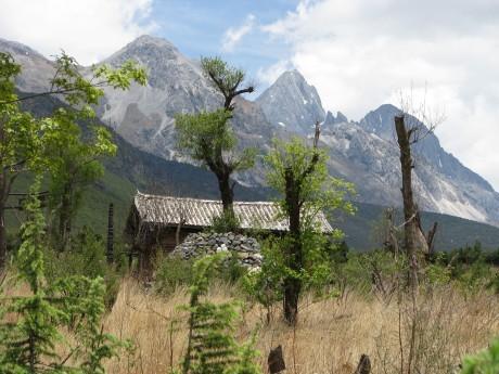 Lijiang - Baisha - rower - góry 13