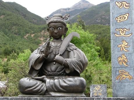 Lijiang - Baisha - rower - góry 20