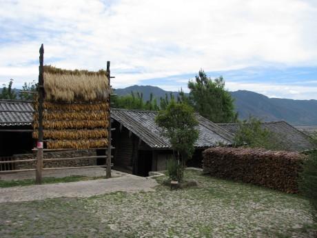 Lijiang - Baisha - rower - góry 24