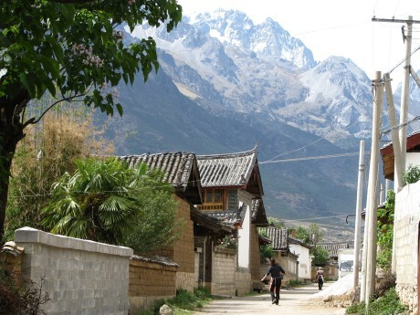 Lijiang - Baisha - rower - góry 25