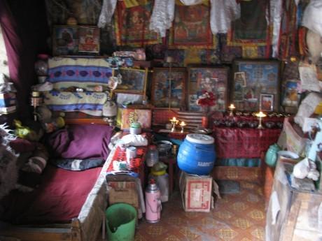Tybet - Chimphu (Chim-puk) - miejsce domedytacji 10