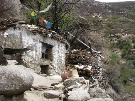 Tybet - Chimphu (Chim-puk) - miejsce domedytacji 11
