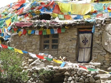 Tybet - Chimphu (Chim-puk) - miejsce do medytacji 33