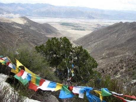 Tybet - Chimphu (Chim-puk) - miejsce domedytacji 20