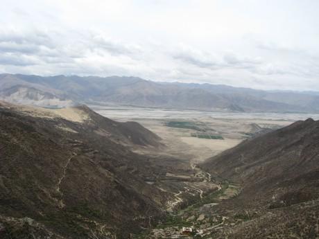 Tybet - Chimphu (Chim-puk) - miejsce domedytacji 21
