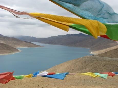 Przez góry (wTybecie) Tsetang - jezioro Yamdrok - Gyantse 7