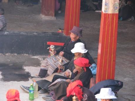 Tybet - Lhasa - Festiwal Saga Dawa 15