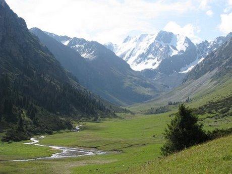 Treking wgórach Tien Shan (Kirgistan) 7
