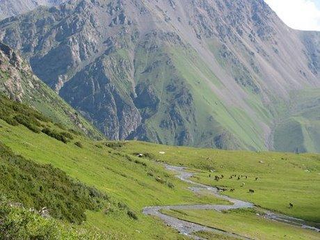 Treking wgórach Tien Shan (Kirgistan) 28