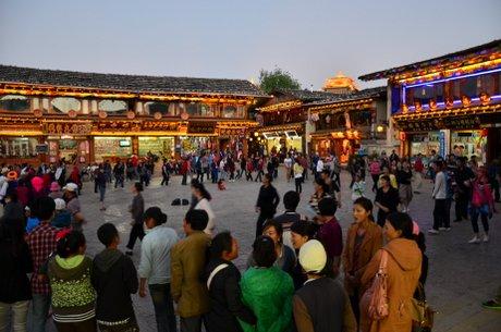 Moje Chiny (subiektywnie) - Shangri La, czyli problemy z BHP 1