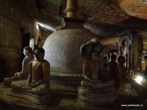 Złota świątynia Dambulla; Sri Lanka 9