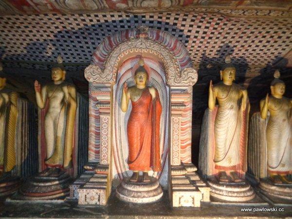 Złota świątynia Dambulla; Sri Lanka 6