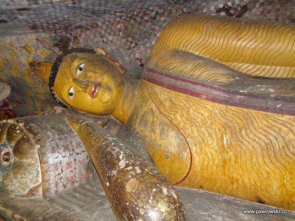 Złota świątynia Dambulla; Sri Lanka 5