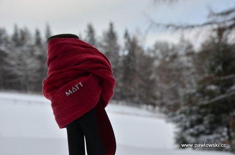 Test - chusta wielofunkcyjna MATT Merino Wool 1