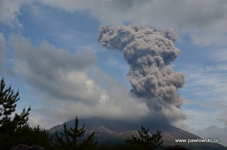 Japonia - Sakurajima 1