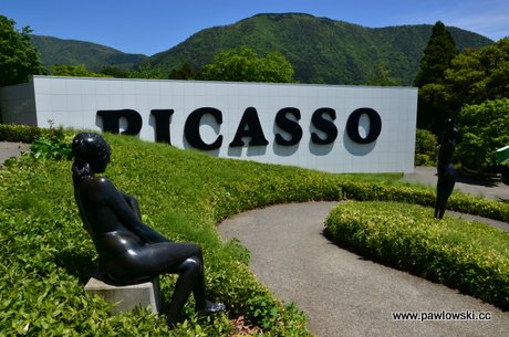 Japonia - Hakone - Picasso i Fudżi 1