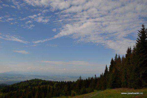 Główny Szlak Beskidzki; Schronisko PTTK naTurbaczu - Krościenko nadDunajcem 9